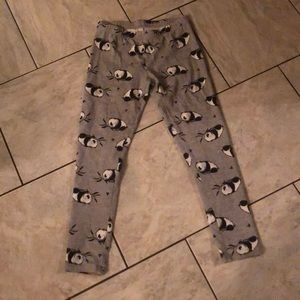 I am selling a pair of girls panda pants